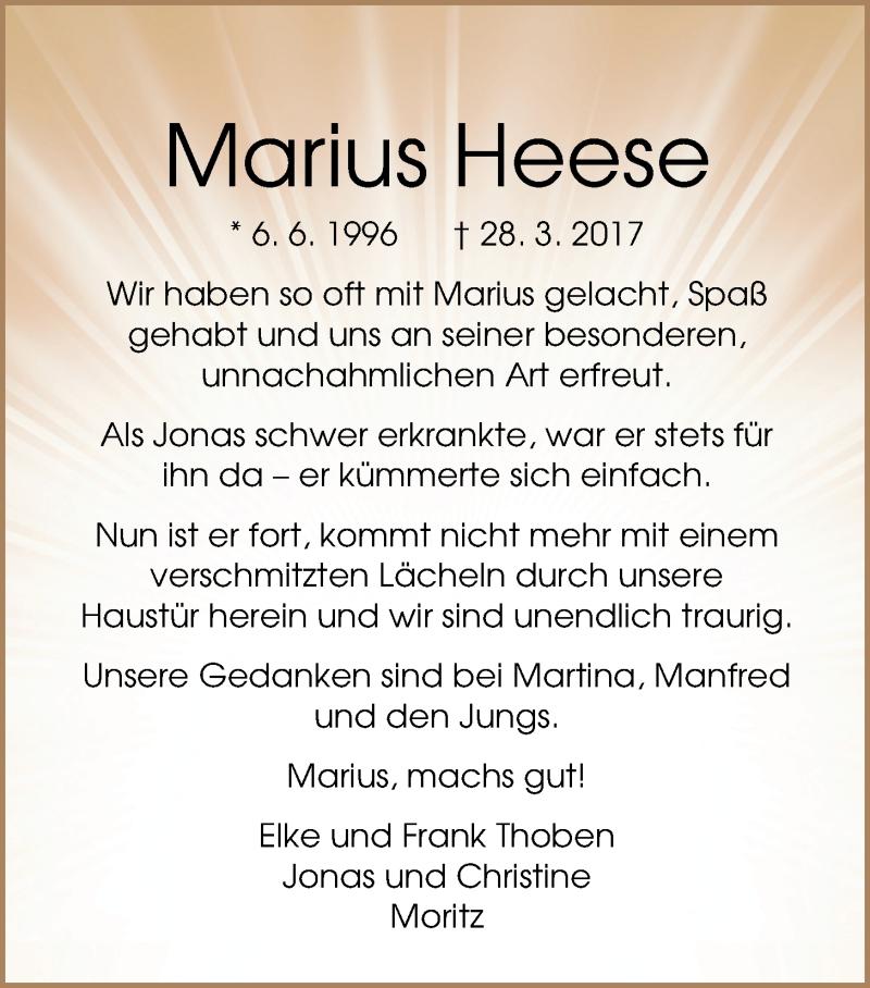 Marius Heese
