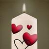Kerze für Oma Elfriede und Opa Arno für